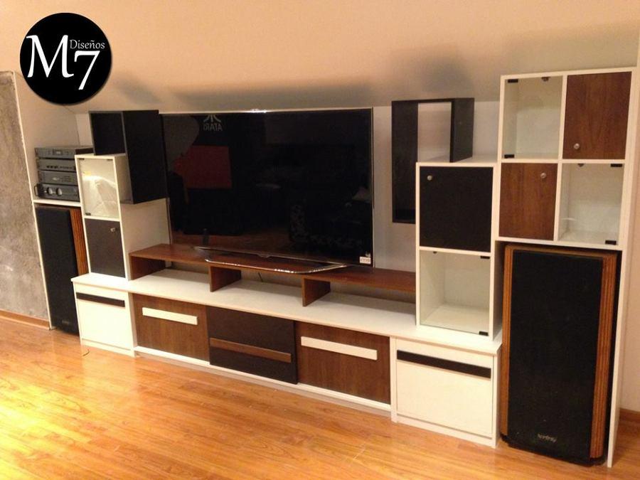 Foto: Mueble Rack TV de M Siete Diseños #88733 - Habitissimo