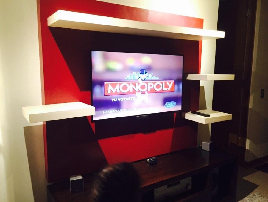 Mueble tv en lamitech