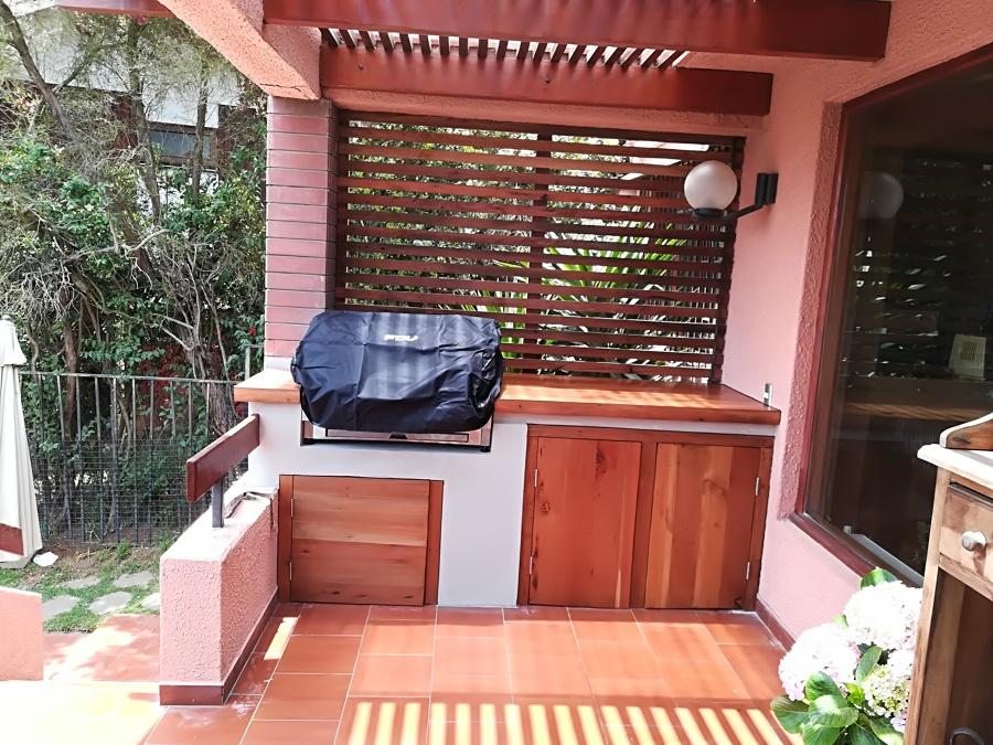 Mueble y maderas para asaderas y parrillas en obra