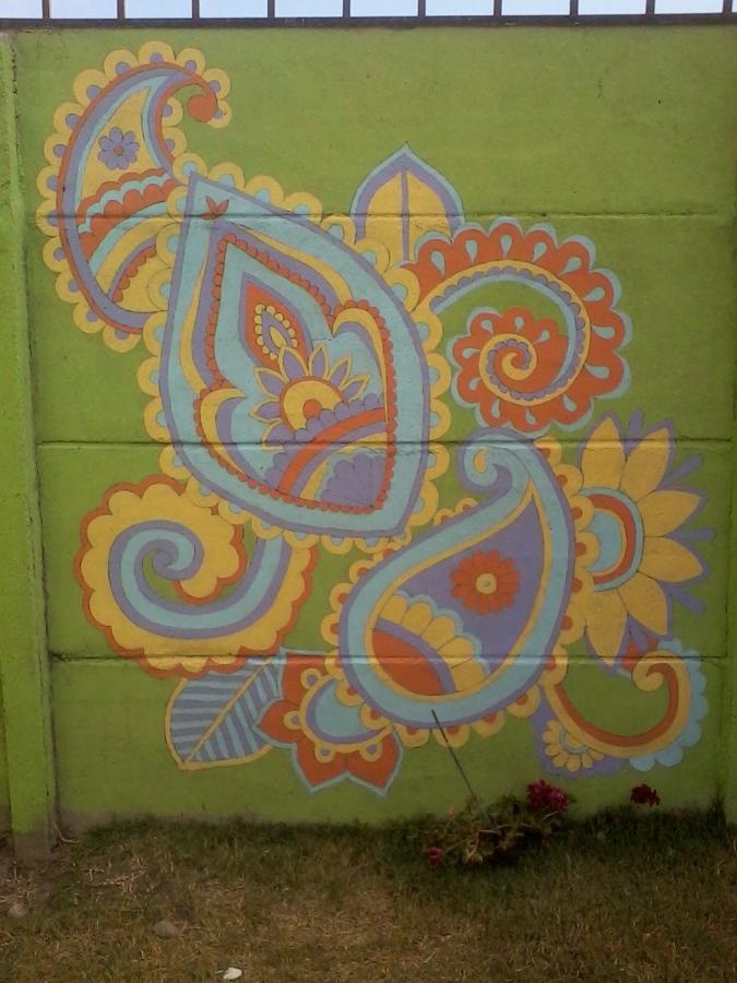 Foto murales de mandalas de d az de dise o 38567 for Murales para fotografia