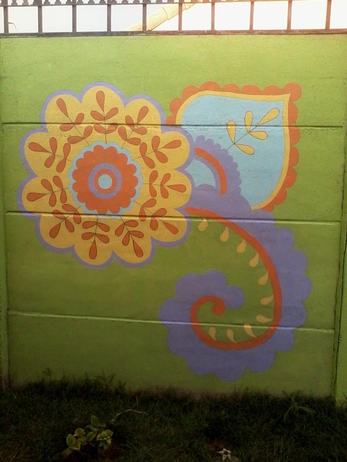 Foto murales de mandalas de d az de dise o 38569 for Murales para fotografia