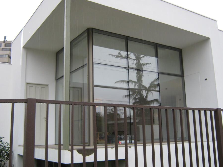 Tabiques vidriados para oficinas vitrinas comerciales - Cierres de aluminio para terrazas ...