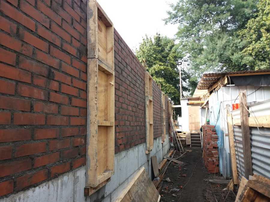 Muros perimetrales Residencial estudiantil