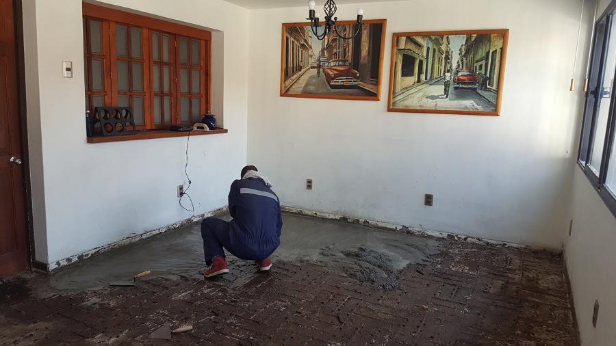 Nivelación de piso 2