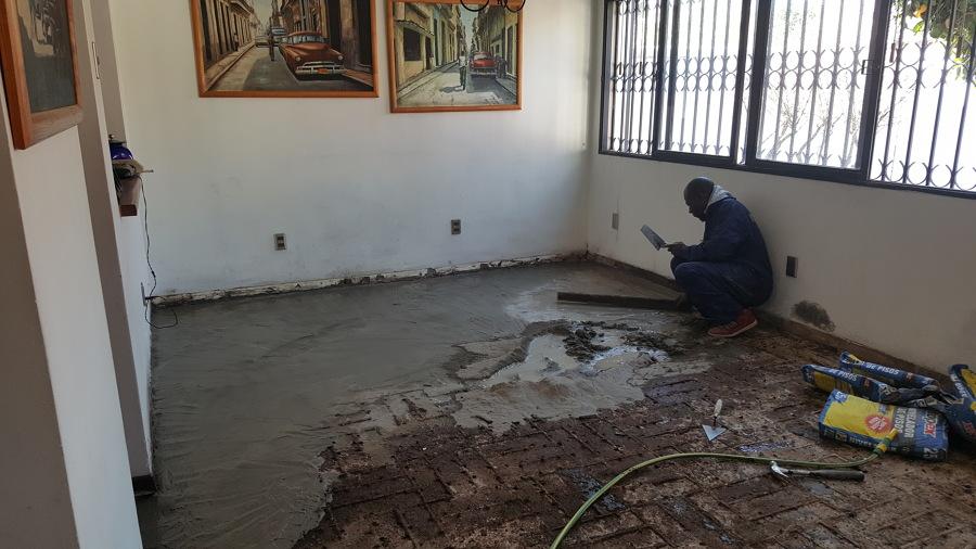 Nivelación de piso
