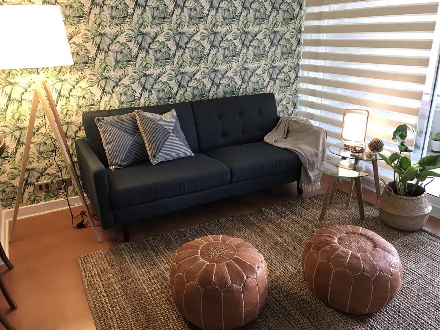 No se necesitan muebles grandes