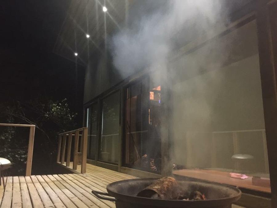 Noche terraza