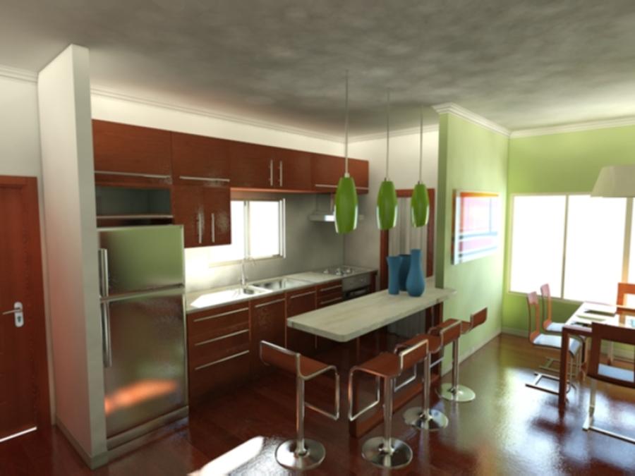 Foto nueva distribucion de cocina de proyectos 3s 74131 - Distribucion de cocinas ...