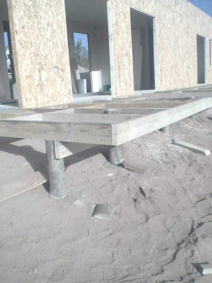Obra gruesa construcción casa habitacion