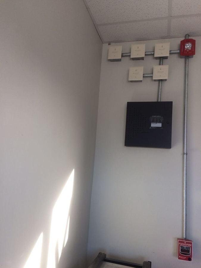 Panel de Incendio