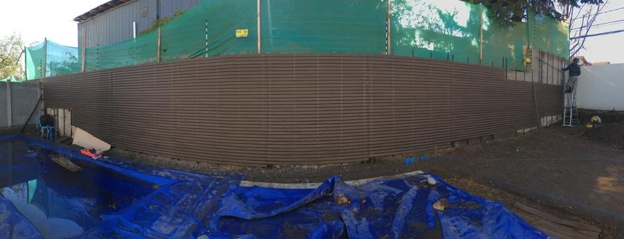 Panorámica de Muro WPC