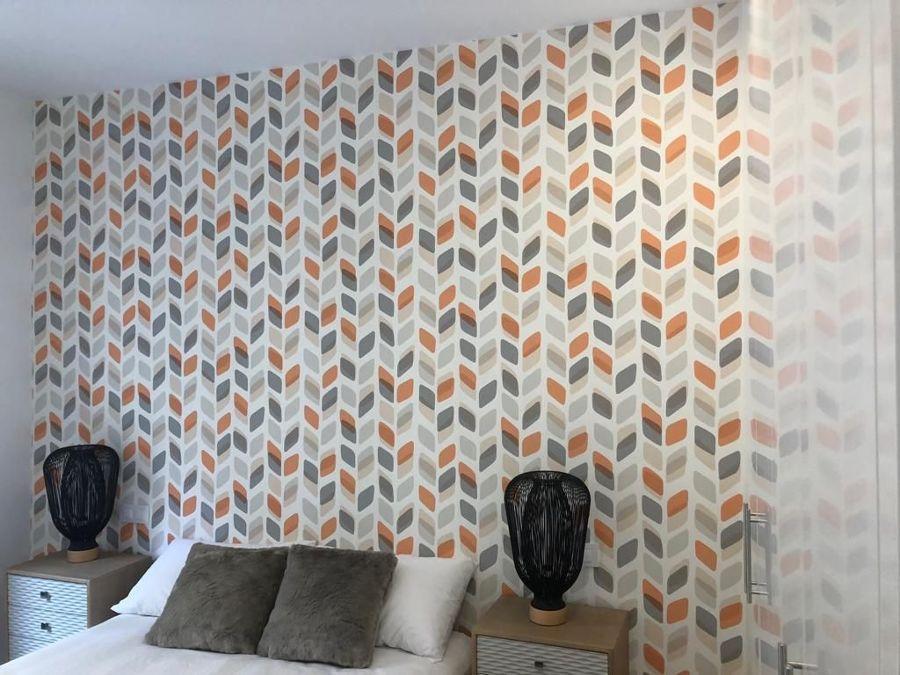 papel mural dormitorio