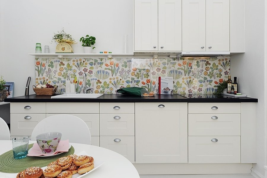 Papel mural cocina