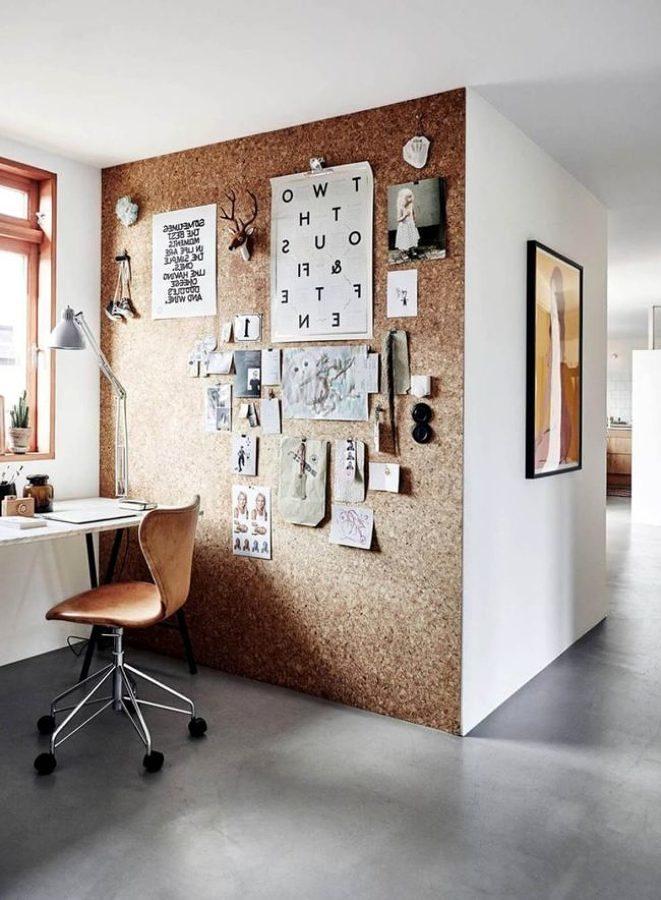 Foto muro revestido de corcho 193039 habitissimo - Panel de corcho para pared ...