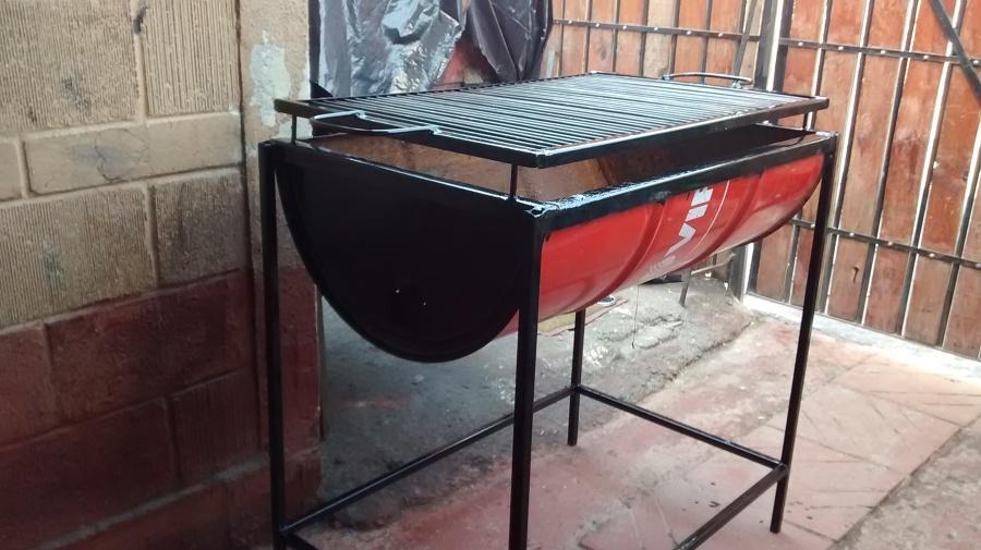 Parrillas 1 2 tambor ideas construcci n casa - Como hacer una barbacoa paso a paso ...