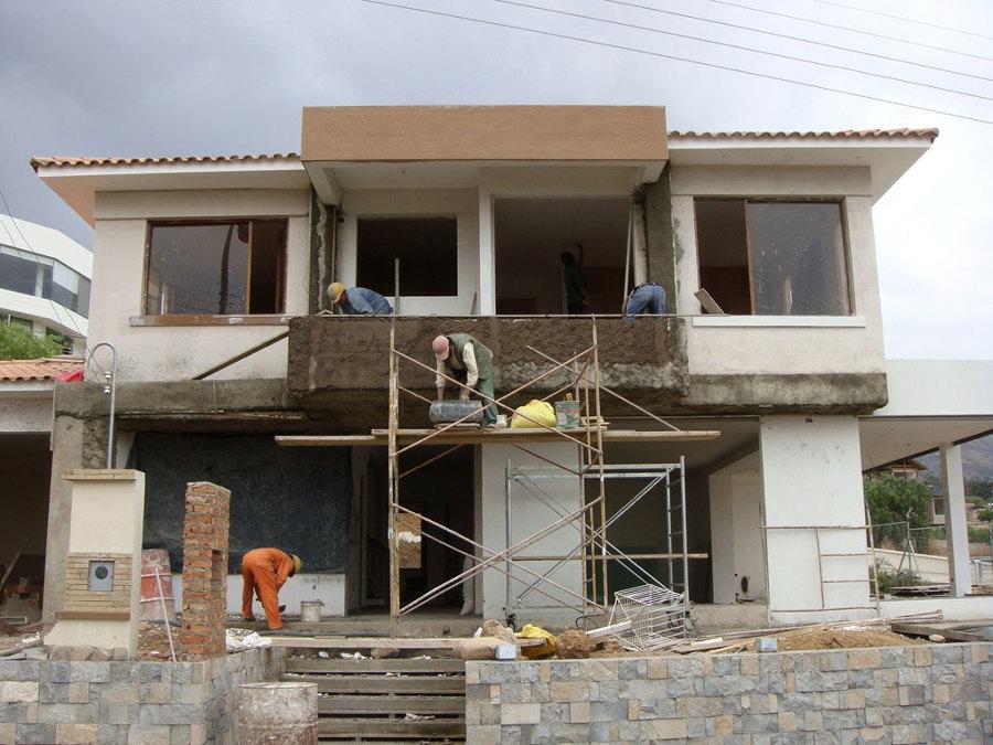 Foto parte frontal casa estilo ibicenco de martec 126197 - Proyectos de construccion de casas ...
