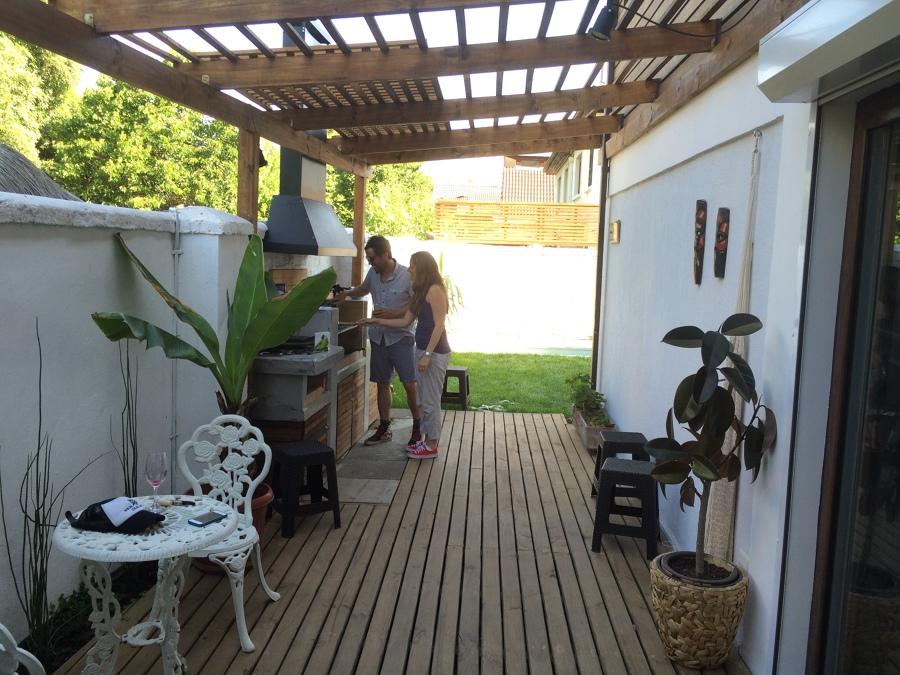 patio lado oriente terraza quincho