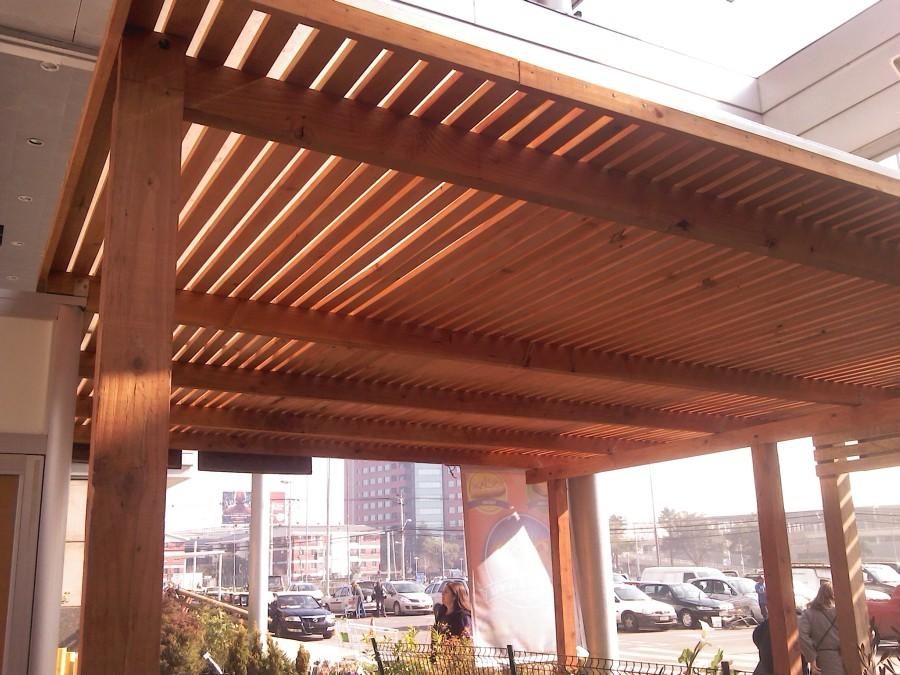 Fabricacion de pergolas de madera ideas construcci n casa - Construccion de pergolas de madera ...