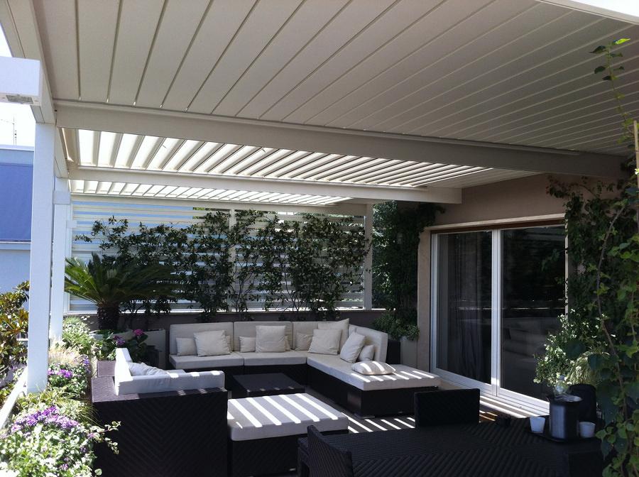 pérgolas bioclimáticas para jardín
