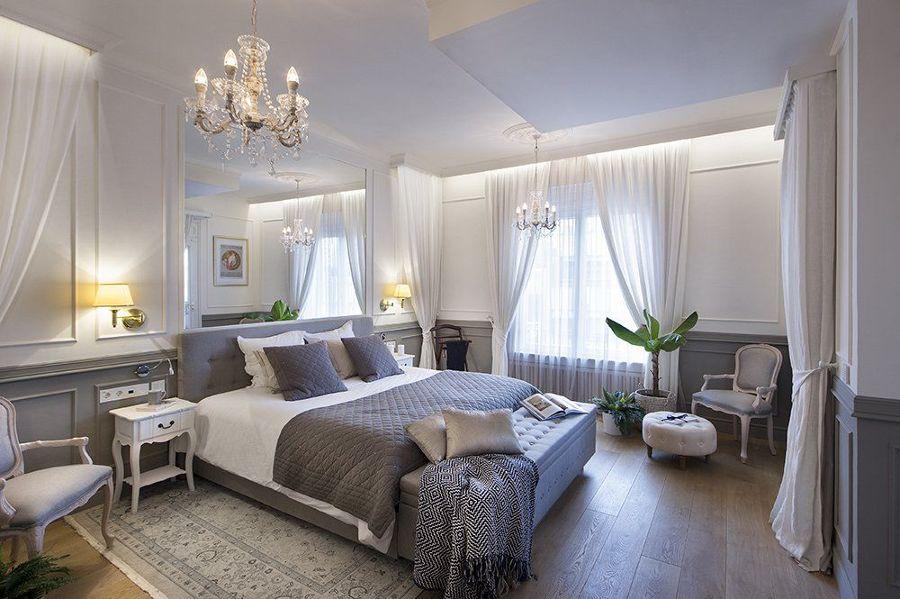 Pieza con pisos laminados