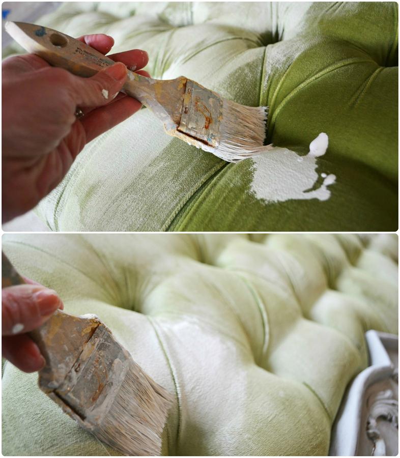 Pintar tejidos con Chalk Paint