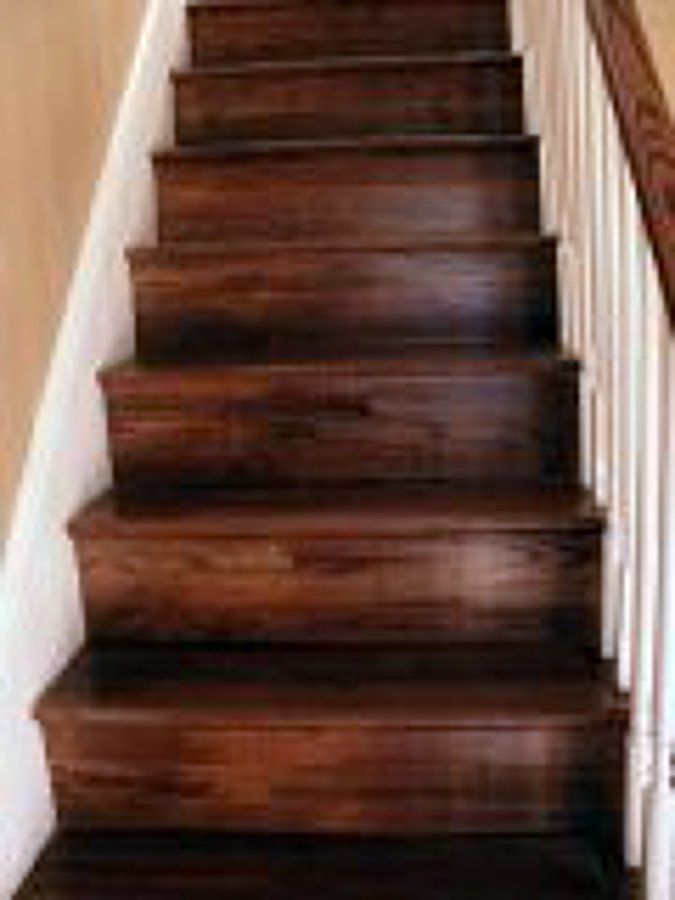 Pulido y vitrificado de pisos ideas pisos madera - Pintura para escaleras ...