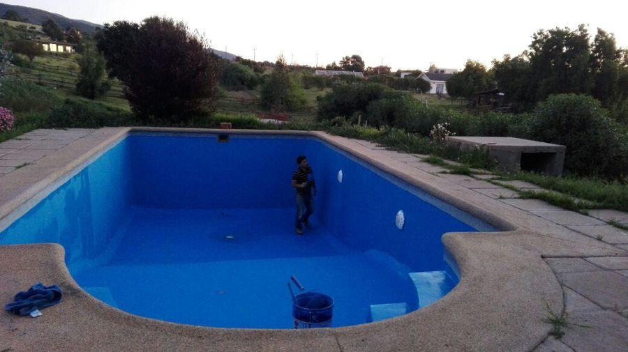Pintura de piscina y reparaci n de grietas ideas - Pintura de piscina ...