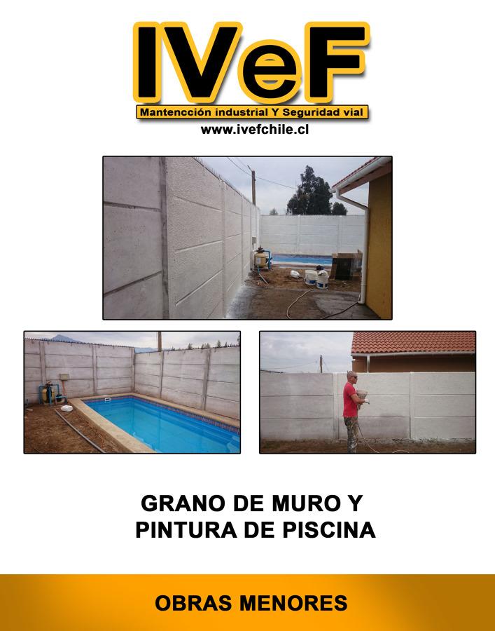 Foto pintura de piscinas y grano para muros de ivef - Pintura de piscina ...