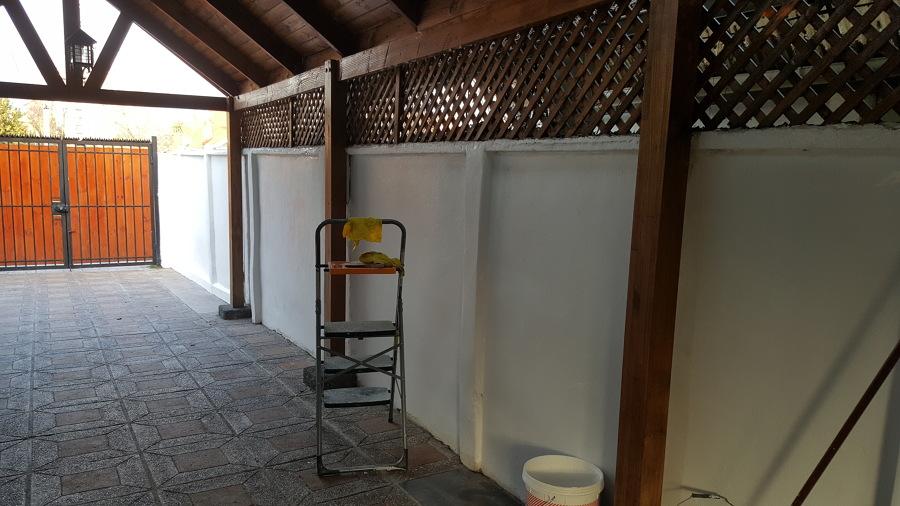 Pintura exterior de muros