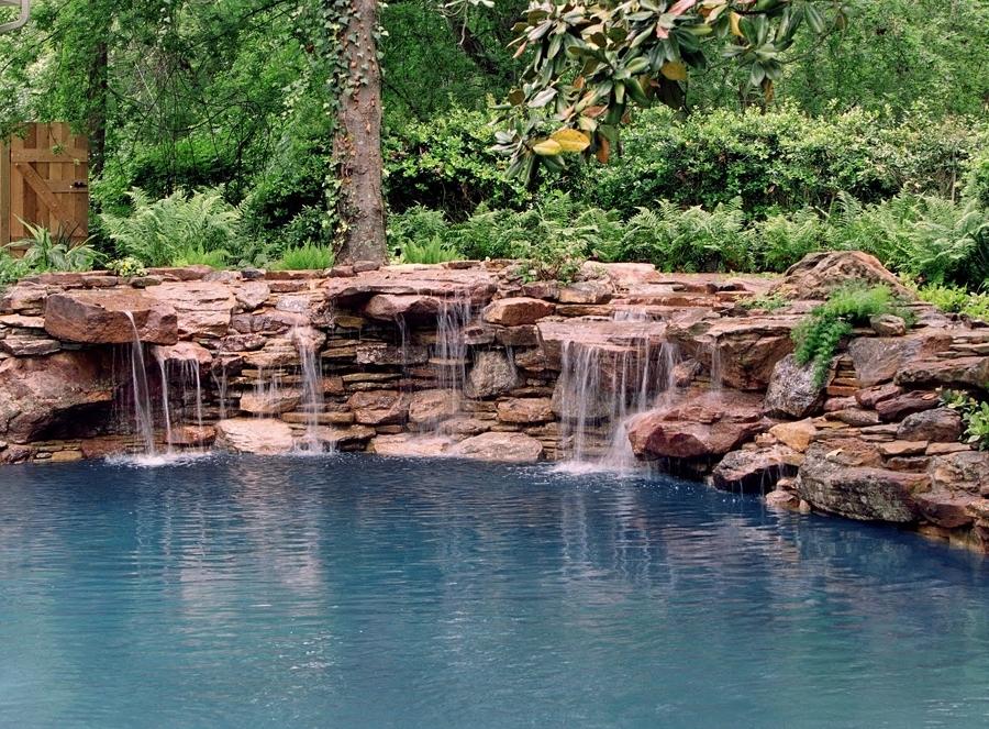 piscina cascada