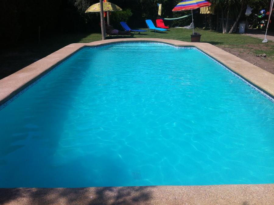 Foto piscina de 4 x 8 c on focos led de ruiloba - Focos piscina led ...