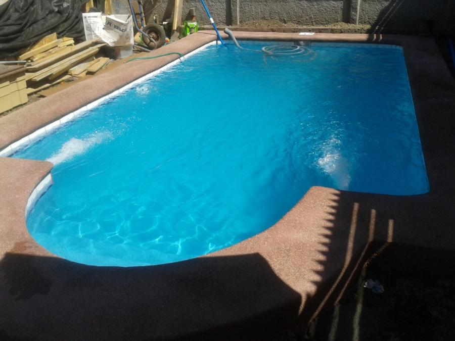 Foto piscina entrada medio punto de fcm 77343 habitissimo for Entrada piscina
