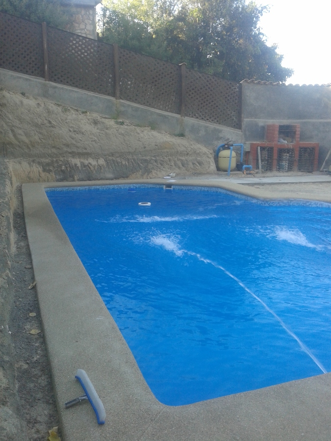 Construcci n de piscina de hormig n proyectado ideas for Construccion de piscinas merida
