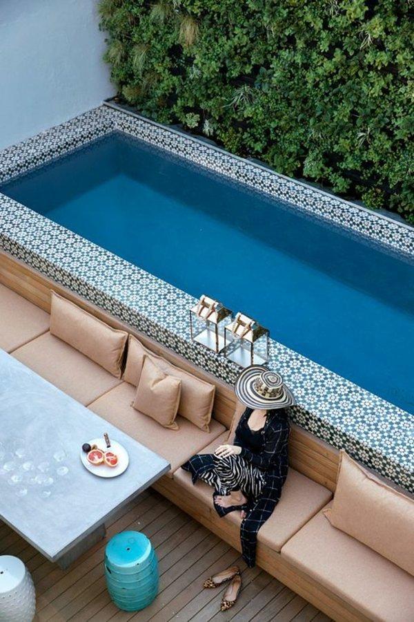 Foto piscina peque a 208929 habitissimo for Medidas de una alberca pequena