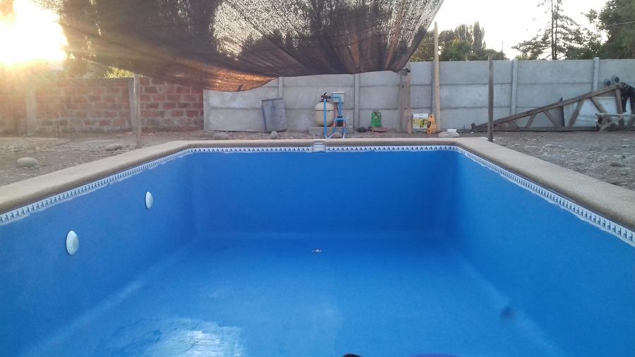 piscina pintada