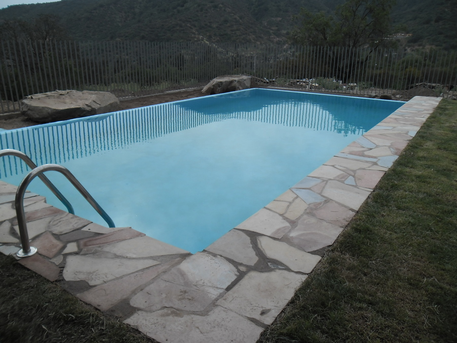 Piscina hormigon armado sin borde ideas construcci n casa for Piscina hormigon armado