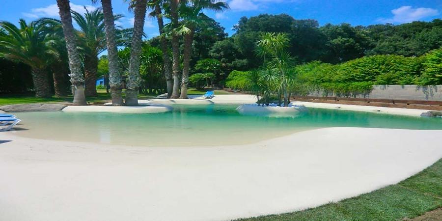 Atr vete con las piscinas de arena y acerca tu casa al mar for Coste construccion piscina