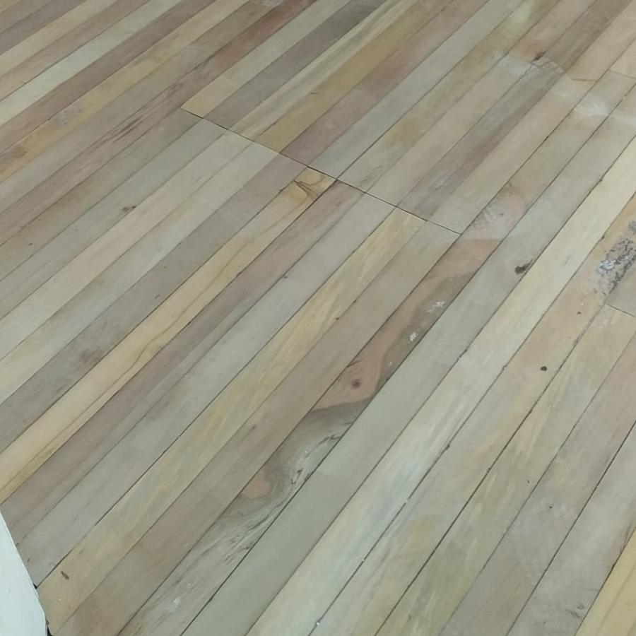 piso en etapa del pulido