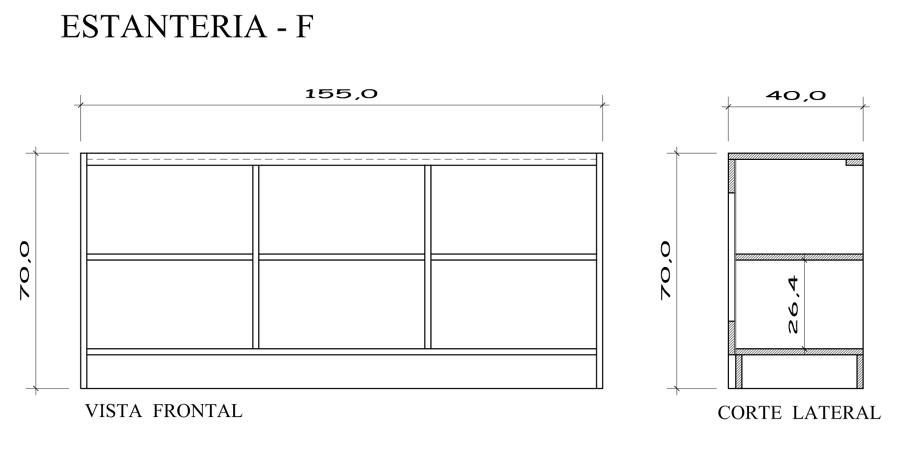Dise o y construccion local servimaster para metro sa - Dibujos de estanterias ...