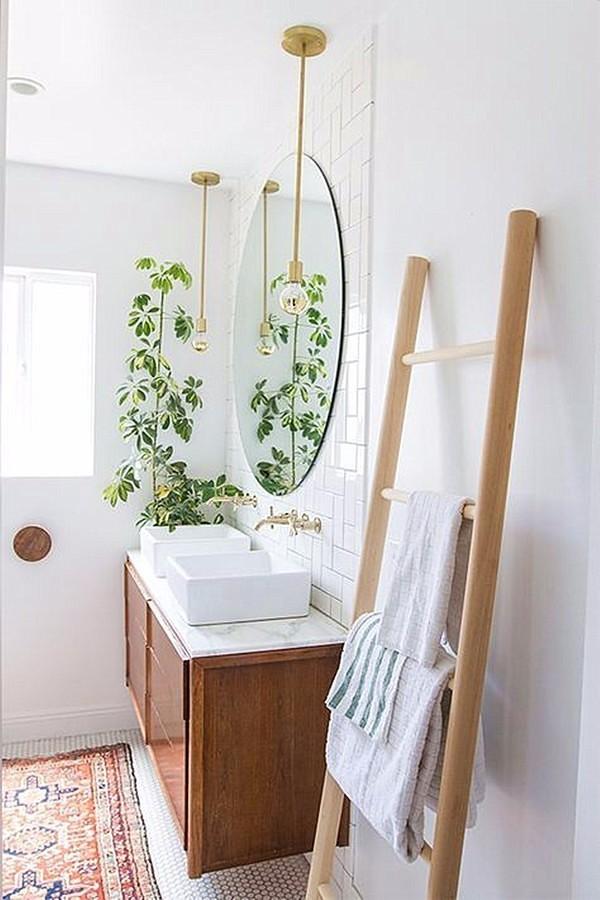 Planta paraguas baño