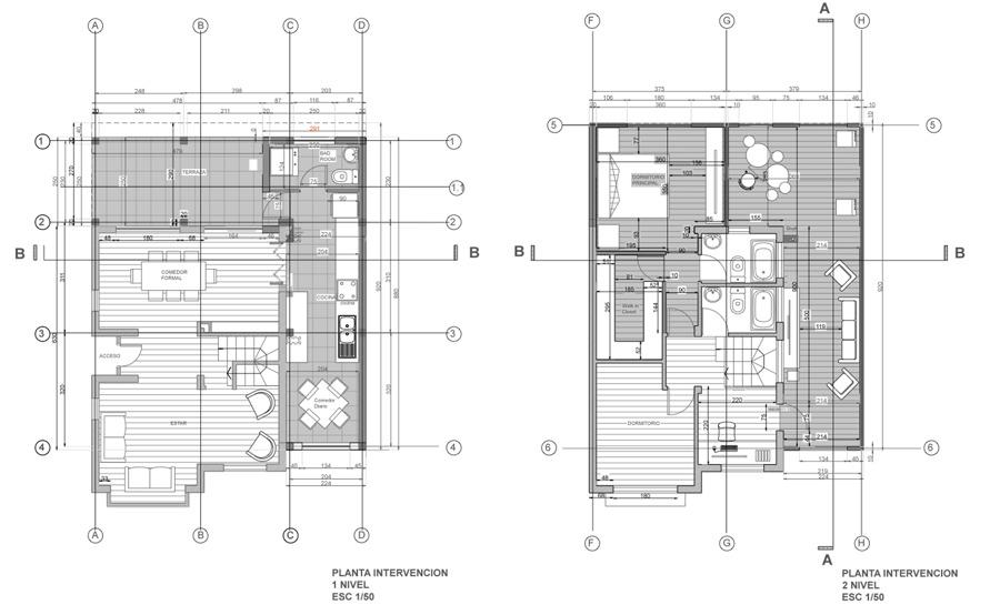 Foto plantas arquitectura amplacion de arcox for Plantas de arquitectura