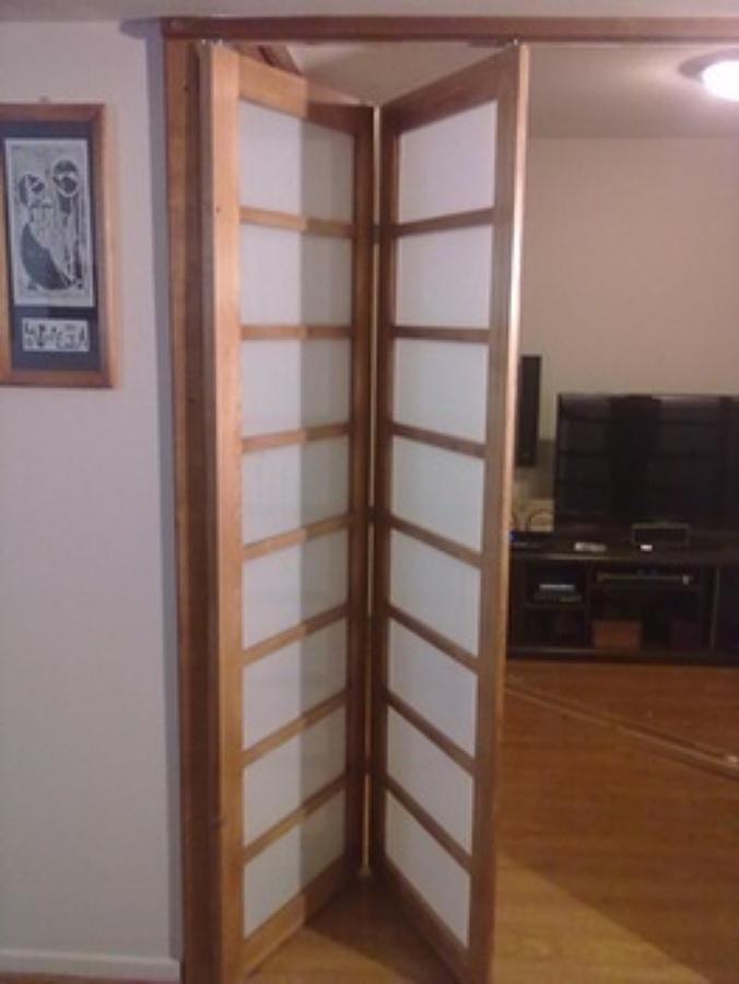 Puertas corredizas de madera precios elegant puertas en - Precio puertas plegables ...