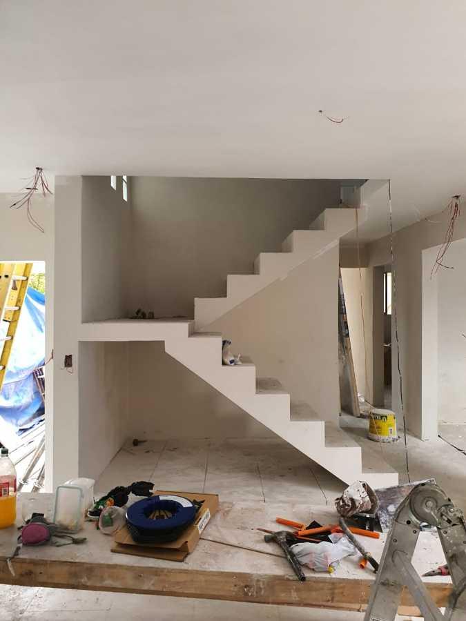 Primer piso en terminación