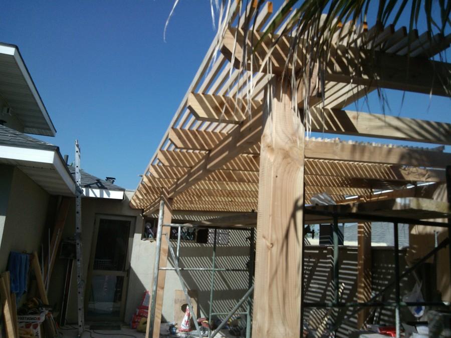 Quincho terraza en pe alolen ideas remodelaci n casa for Como hacer un techo economico para casa