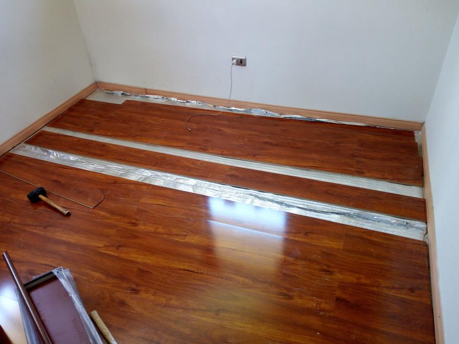 proceso instalación piso