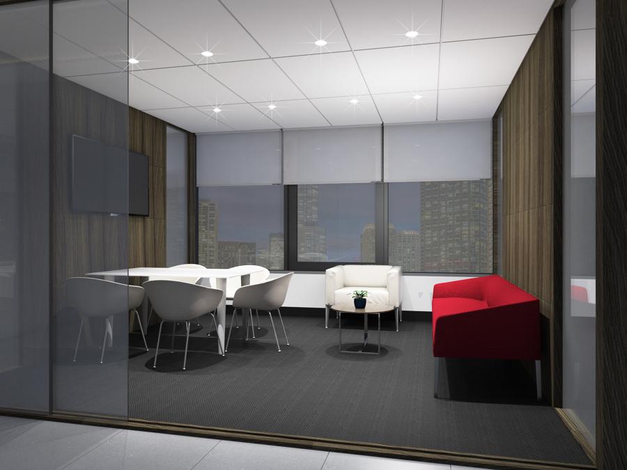 Propuesta sala de reuniones - Render