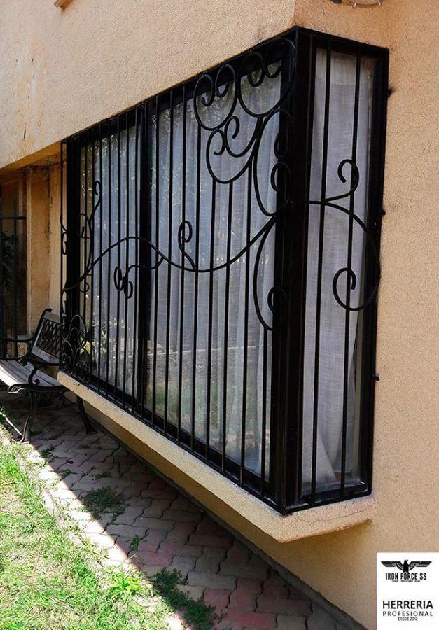 Foto proteccion forjada en fierro 10mm de flavio parra 117590 habitissimo - Proteccion para casas ...