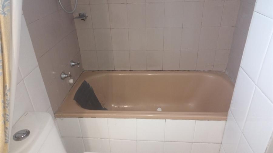 Proyecto cambio de tina y instalación de cerámica y monomando ducha.
