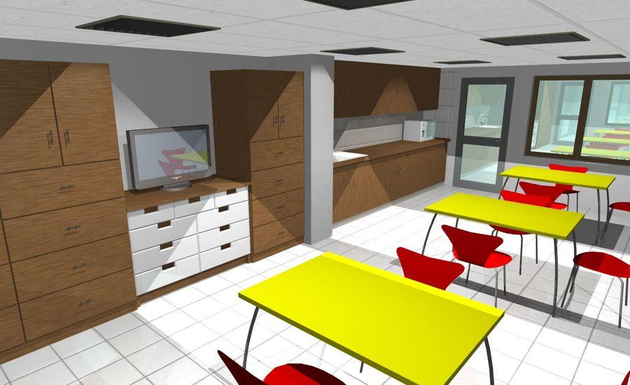 Remodelaci n sala cuna y jardin infantil ideas for Proyecto cocina infantil