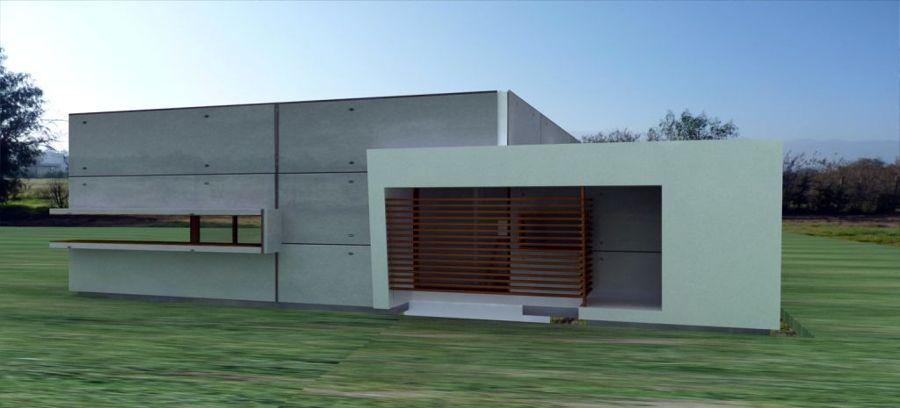 Foto proyecto vivienda unifamiliar alert de jose m saez for Vivienda unifamiliar arquitectura